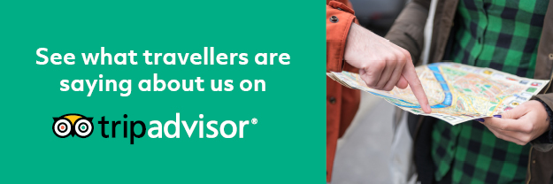 See what travellers are saying about us on TripAdvisor